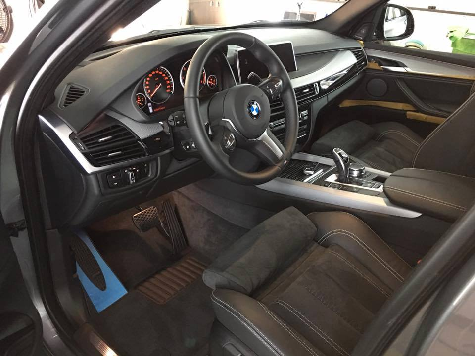 Salongi keemiline puhastus - BMW X5