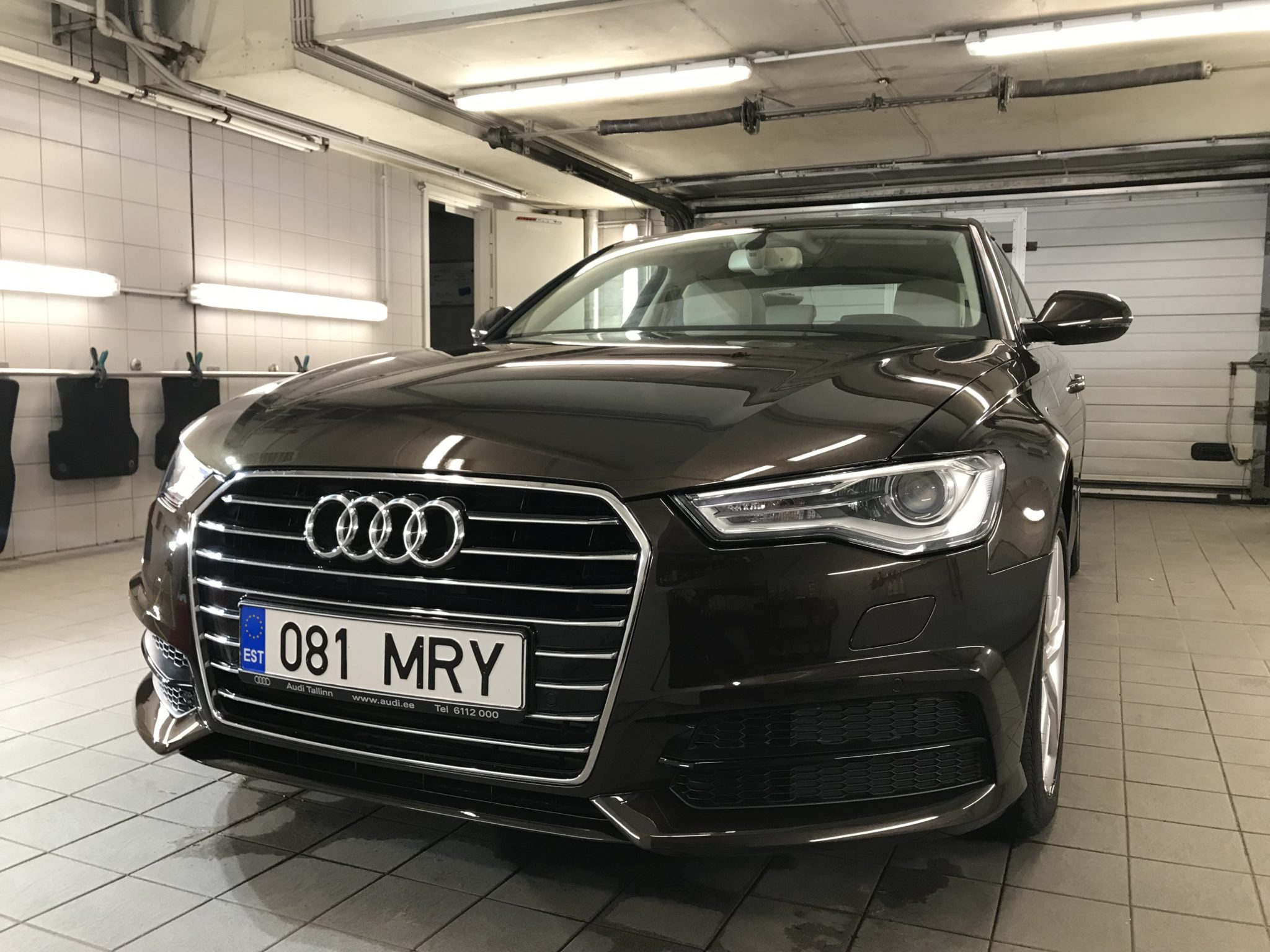 Auto poleerimine Audi A6
