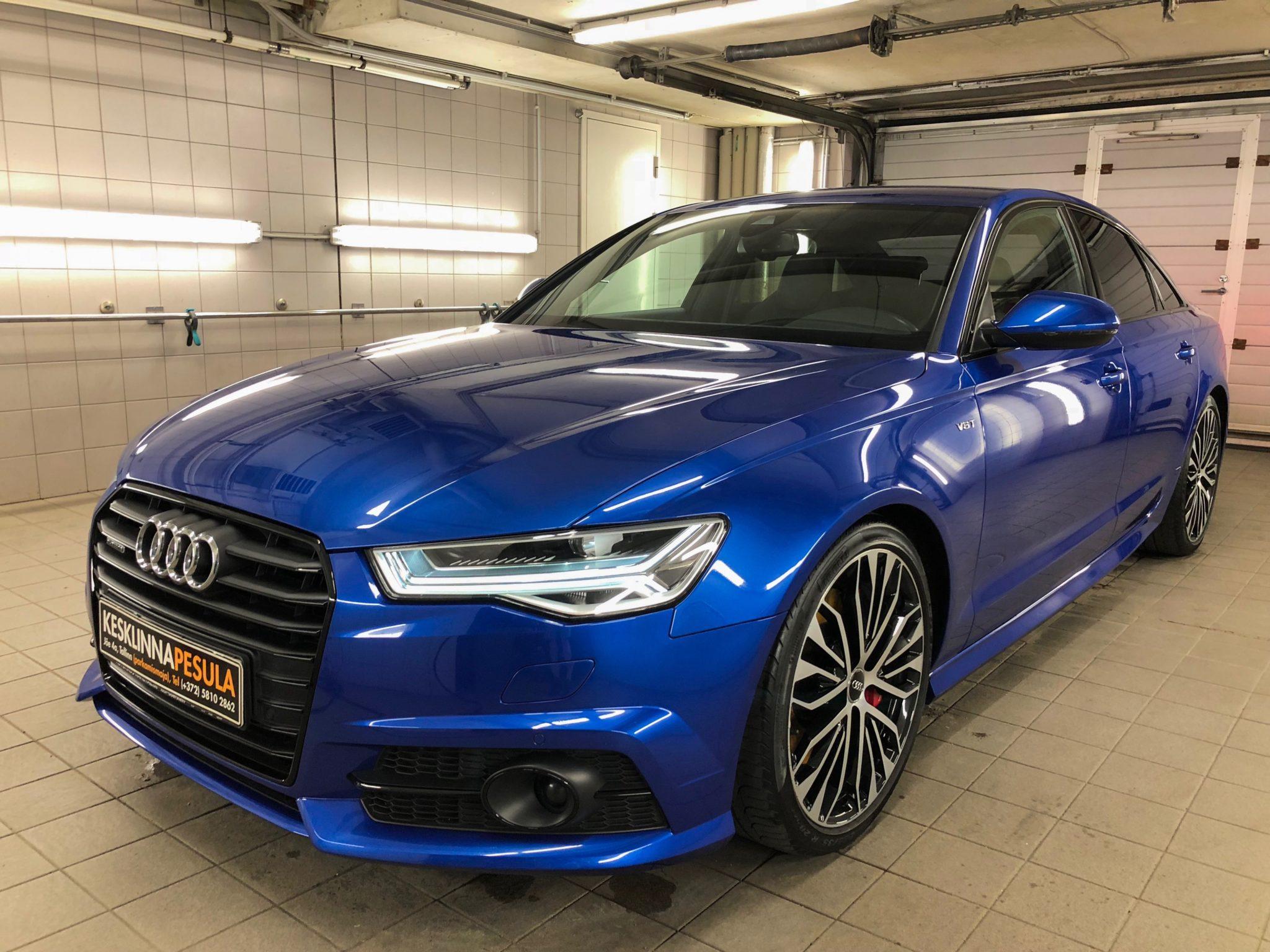 Läigestav poleerimine & keraamiline püsivaha - Audi A6