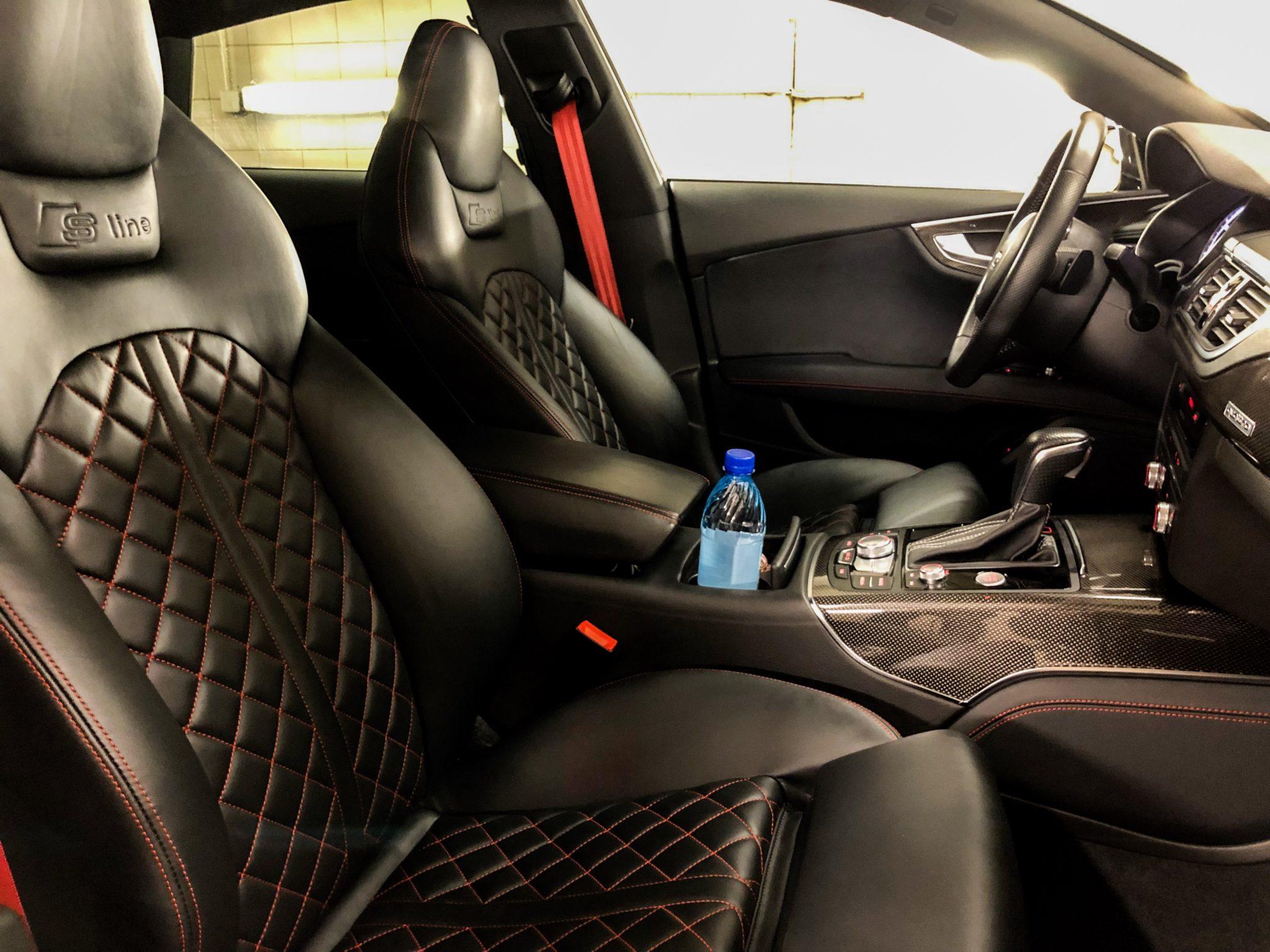 Salongi nahahooldus - Audi A7