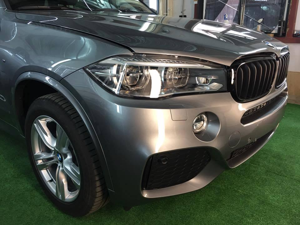 Läigestav poleerimine & keraamiline püsivaha - BMW X5